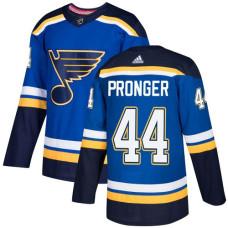 Chris Pronger Authentic St. Louis Blues #44 Royal Blue Home Jersey