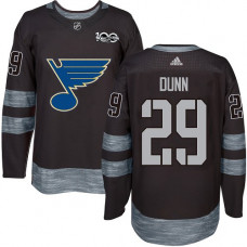 Vince Dunn Authentic St. Louis Blues 1917-2017 100th Anniversary #29 Black Jersey