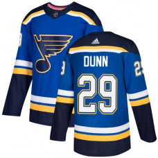 Youth Vince Dunn Authentic St. Louis Blues #29 Royal Blue Home Jersey