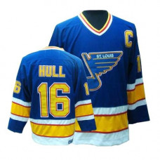 Brett Hull St. Louis Blues CCM Premier Throwback Blue Jersey