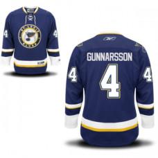 Carl Gunnarsson St. Louis Blues Premier Alternate Navy Blue Jersey