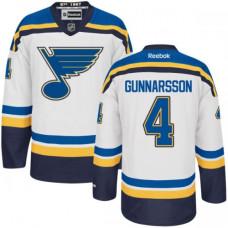 Kid's St. Louis Blues Carl Gunnarsson Premier Away White Jersey