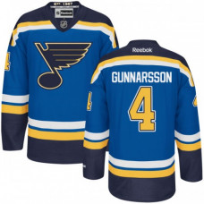 Kid's St. Louis Blues Carl Gunnarsson Premier Home Navy Blue Jersey