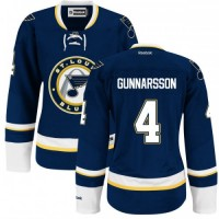 Carl Gunnarsson St. Louis Blues Women's Authentic Alternate Royal Blue Jersey
