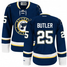 Chris Butler St. Louis Blues Women's Authentic Alternate Royal Blue Jersey