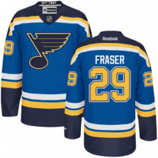 Kid's St. Louis Blues Colin Fraser Premier Home Navy Blue Jersey