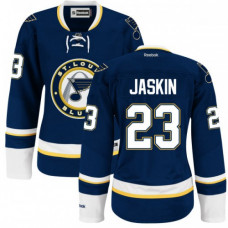Dmitrij Jaskin St. Louis Blues Women's Authentic Alternate Royal Blue Jersey
