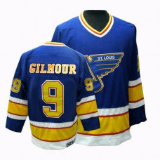 Doug Gilmour St. Louis Blues CCM Authentic Throwback Blue Jersey