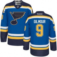 Doug Gilmour St. Louis Blues Premier Home Royal Blue Jersey