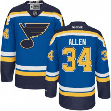 Kid's St. Louis Blues Jake Allen Authentic Home Navy Blue Jersey