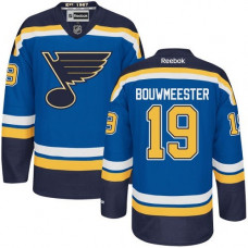 Kid's St. Louis Blues Jay Bouwmeester Authentic Home Royal Blue Jersey