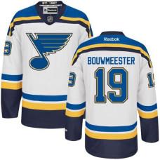 Jay Bouwmeester St. Louis Blues Premier Away White Jersey