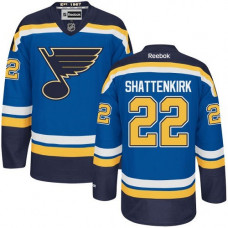Kid's St. Louis Blues Kevin Shattenkirk Authentic Home Royal Blue Jersey