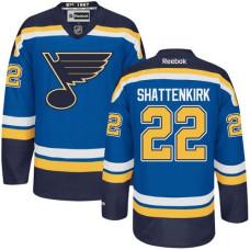 Kevin Shattenkirk St. Louis Blues Premier Home Royal Blue Jersey