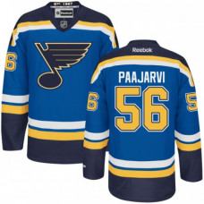 Kid's St. Louis Blues Magnus Paajarvi Authentic Home Navy Blue Jersey
