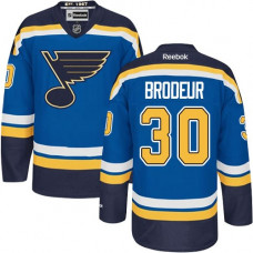 Kid's St. Louis Blues Martin Brodeur Authentic Home Royal Blue Jersey