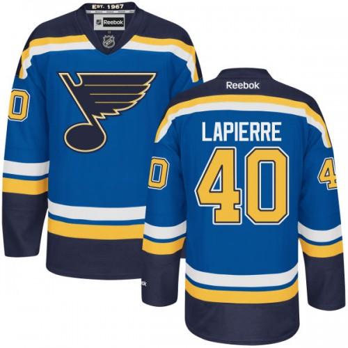 Kid's St. Louis Blues Maxim Lapierre Authentic Home Navy Blue Jersey