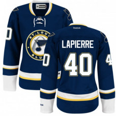 Maxim Lapierre St. Louis Blues Women's Authentic Alternate Royal Blue Jersey