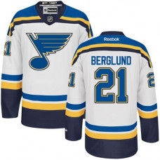 Patrik Berglund St. Louis Blues Authentic Away White Jersey