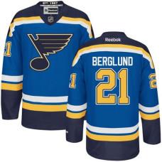 Kid's St. Louis Blues Patrik Berglund Premier Home Royal Blue Jersey