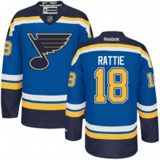 Kid's St. Louis Blues Ty Rattie Authentic Home Navy Blue Jersey