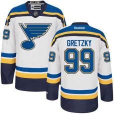 Wayne Gretzky St. Louis Blues Premier Away White Jersey