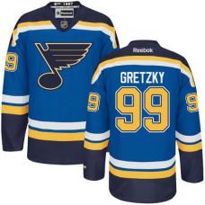 Wayne Gretzky St. Louis Blues Youth Premier Home Royal Blue Jersey